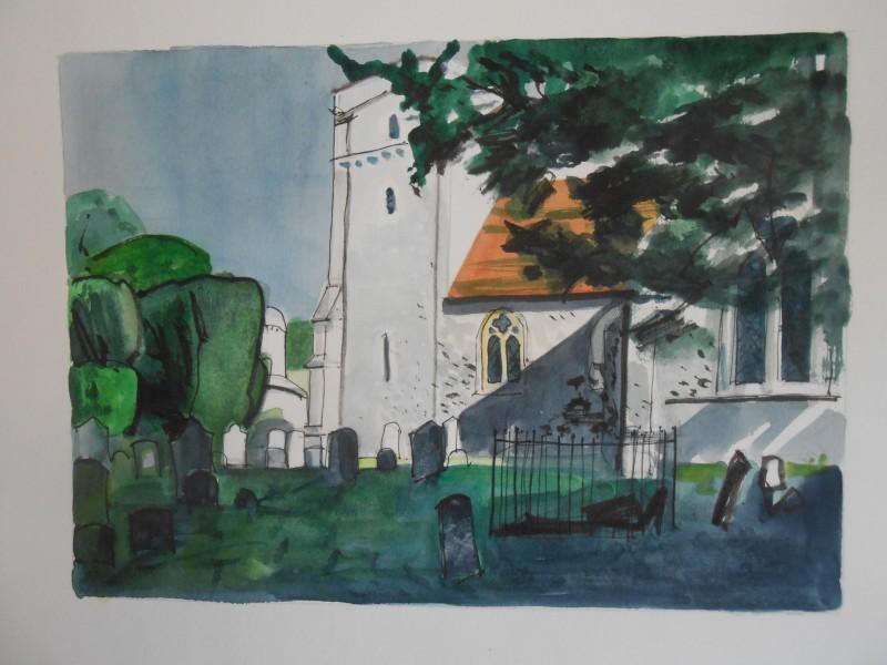 Fawley church, Oxfordshire