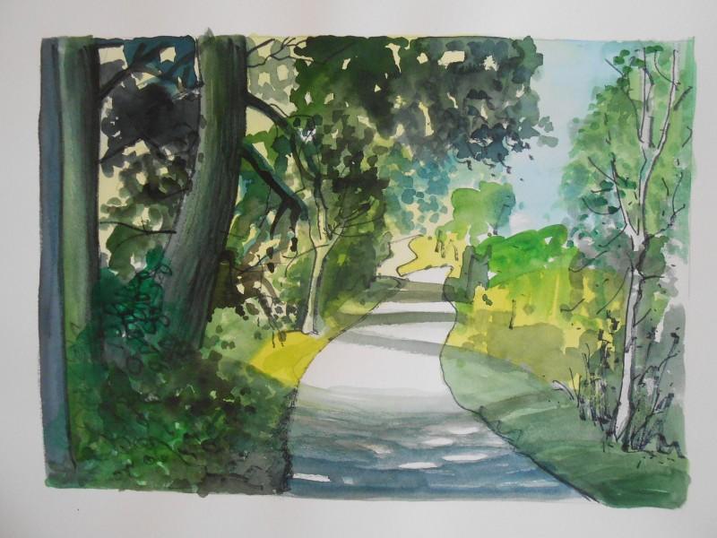 Thames path, Marlow